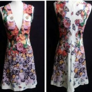 Clover Canyon Empire floral dress size m